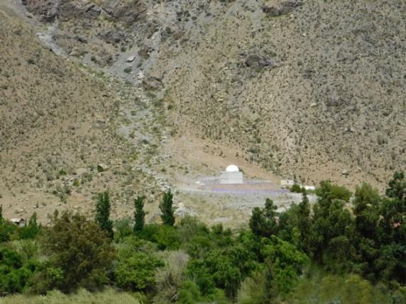 Vallée de l'Elqui, petit observatoire privé dans un camping !