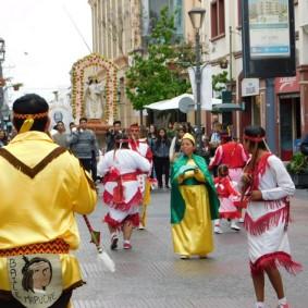 La Serena, procession religieuse