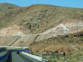 Route La Serena / Atacama, mines