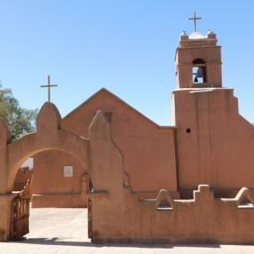 San Pedro de Atacama, l'église