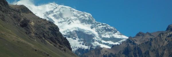 Au pied de l'Aconcagua