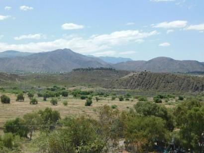 Mendoza, vue depuis le Cerro de la Gloria