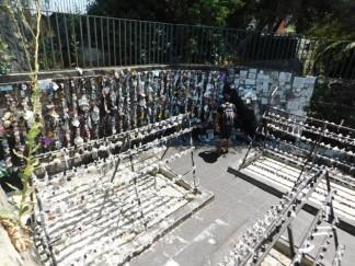 Santiago, Cerro San Cristobal, sanctuaire, ex-voto