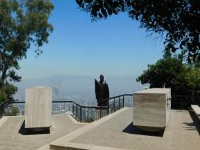 Santiago, Cerro San Cristobal, sanctuaire