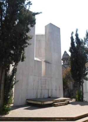 Santiago, cimetière général, tombe de Salvador Allende