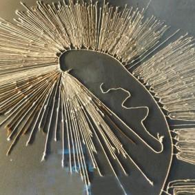 Santiago, Musée d'Art Précolombien - Quipu, système de numération décimale des incas sous forme de noeuds sur des cordelettes