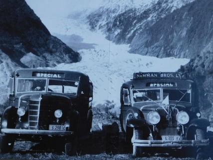 Franz Josef Glacier, il y a 100 ans
