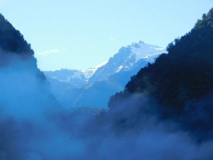Route entre Franz Josef Glacier et Fox Glacier