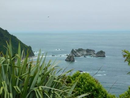 Pacifique, vers Haast