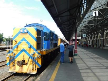 Dunedin, la gare ferroviaire
