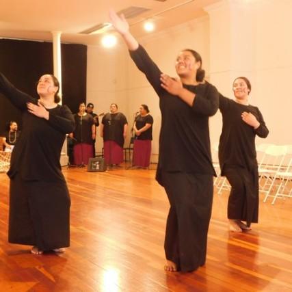 Dunedin, spectacle de danse et de musique Iles du Pacifique