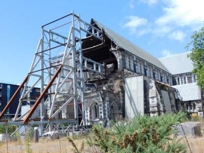 Christchurch, cathédrale détruite par le séisme