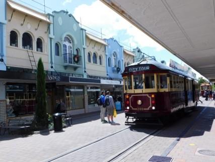 Christchurch, tram touristique