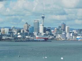 Auckland - Vue depuis Devonport