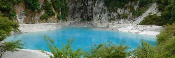 Découverte de la Volcanic Valley, l'écosystème géothermal le plus jeune dumonde