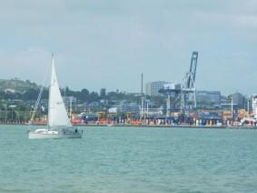 Devonport - vue sur Auckland