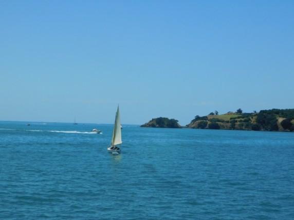 Traversée Ile de Waiheke / Devonport