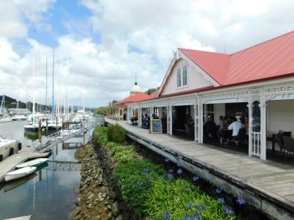 Whangarei, le port