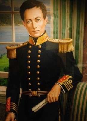 Waitangi Treaty Grounds, musée, William Hobson, le représentant de la Couronne chargé de la signature du traité