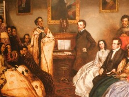Waitangi Treaty Grounds, musée - Rencontre entre Maoris et aristocratie britannique
