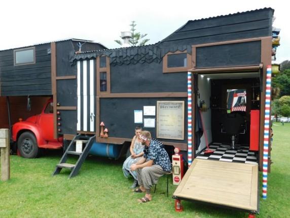 Whangarei, Extravaganza Fair, le coiffeur !