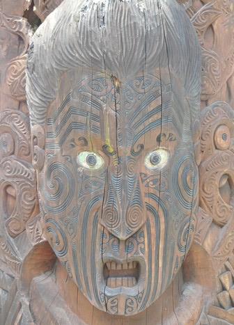 Rotorua - Parc Te Puia - Village maori