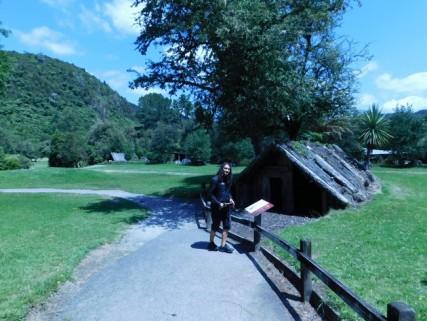 Rotorua - Burried Village - Zone archéologique