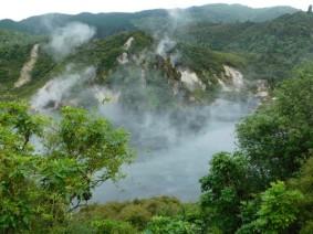 Waimangu Volcanic Valley - Lac Frying Pan