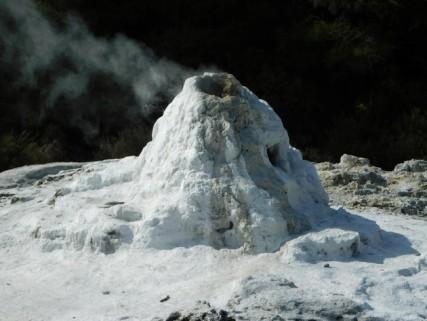 Parc géothermal Wai-O-Tapu - Geyser Lady Knox