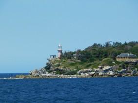 Sur le ferry entre Manly et Sydney