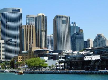 Sur le ferry entre Manly et Sydney - Arrivée à Circular Quay