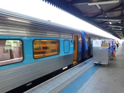 Train Sydney / Brisbane