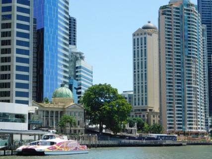 """Brisbane - """"Croisière"""" en ferry public"""