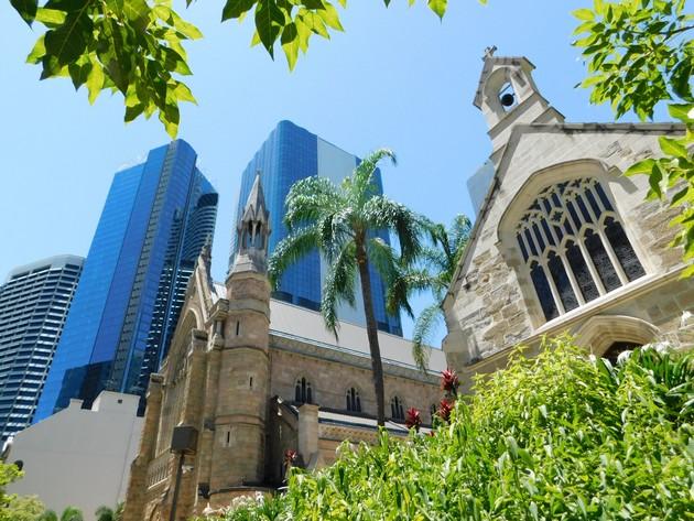 Brisbane - Cathédrale Sant Stephen