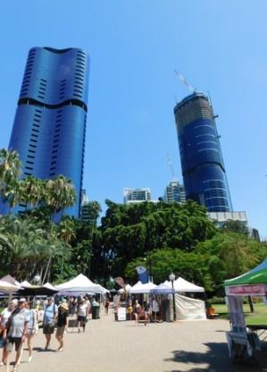 Brisbane - Jardin Botanique, petit marché artisanal