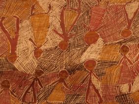 Sydney - Galerie d'Art de Nouvelle Galles du Sud - Art australien d'inspiration aborigène