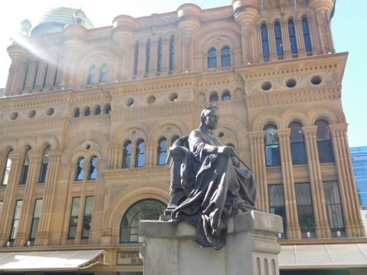 Sydney - Quartier Town Hall - Queen Victoria Building