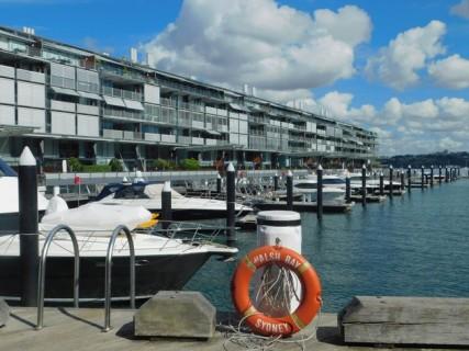 Sydney - Dock réhabilité non loin de la Barangaroo Reserve