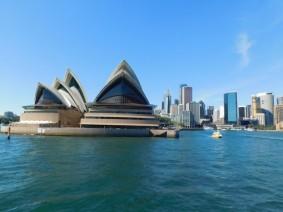 Sydney - L'opéra depuis le ferry pour Manly
