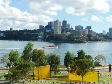 Sydney - Vue depuis la Barangaroo Reserve