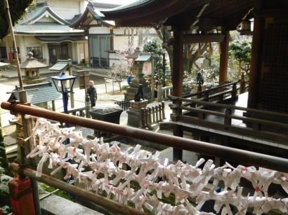 Tokyo - Parc de Uneo - Temple Gojo Tenjin