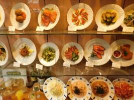 Tokyo - Quartier Shinjuku - Pratique pour choisir, ces plats en cire !
