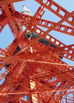 Tokyo - Détail de la tour