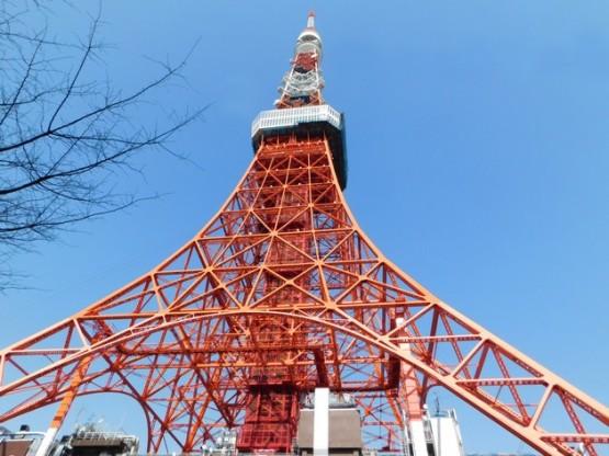 Tokyo - La célèbre tour qui ressemble beaucoup à sa grande soeur parisienne !
