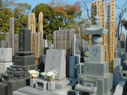 Tokyo - Temple Zojo-ji - Cimetière