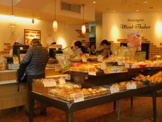 Tokyo - Quartier Roppongi, boulangerie française