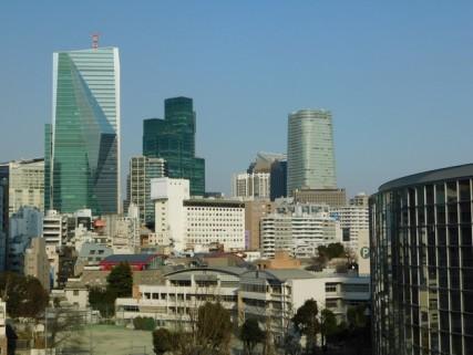 Tokyo - Quartier Roppongi - Vue depuis le Complexe Mori Tower