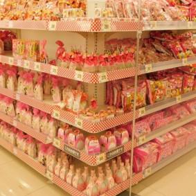 Tokyo - Urayasu - Supermarché - Sucreries pour fêter la floraison des sakuras