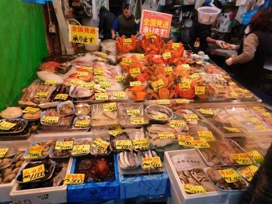 Tokyo - Marché de Tsukiji