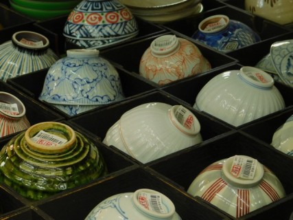Tokyo - Ginza - Magasin de porcelaine